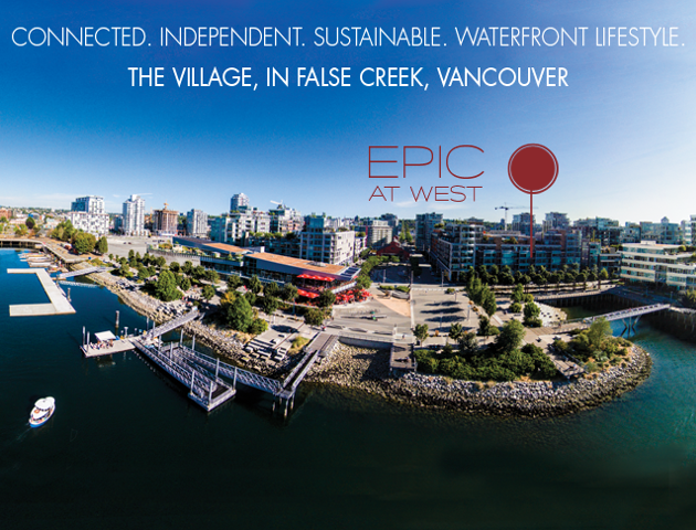 Epic at West   --   1788 Columbia Street, Vancouver - Vancouver West/False Creek #2