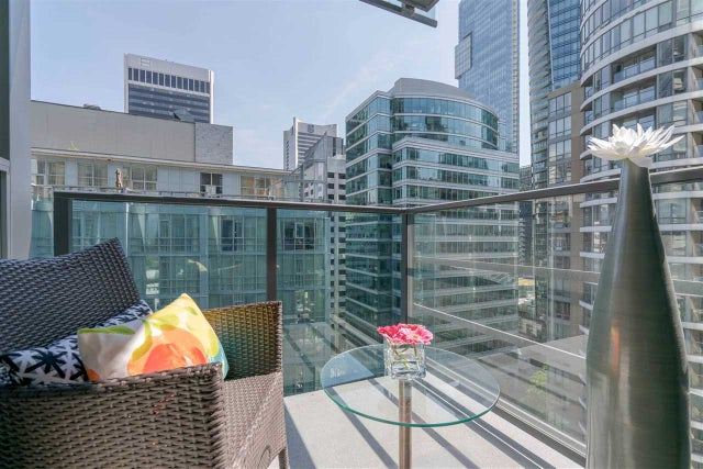 1804 1189 MELVILLE STREET - Coal Harbour Apartment/Condo for sale, 1 Bedroom (R2278680) #6